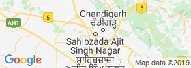 Mohali map