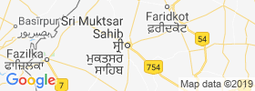 Muktsar map