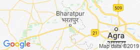 Bharatpur map