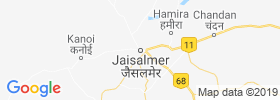 Jaisalmer map