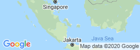 Bangka–belitung Islands map