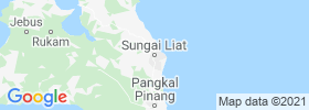 Sungailiat map