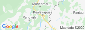 Kualakapuas map