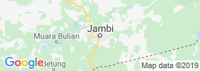Jambi City map