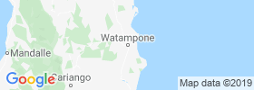Watampone map