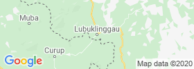 Lubuklinggau map