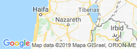 Nazareth map