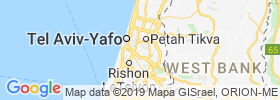 Or Yehuda map