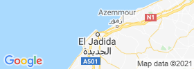 El Jadida map