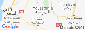 Youssoufia map