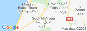 Souq Larb'a Al Gharb map