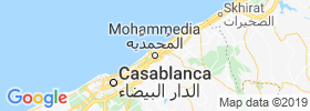 Mohammedia map
