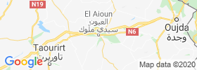 El Aioun map