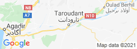 Taroudant map