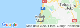 Asilah map