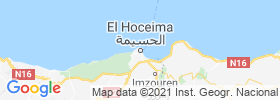 Al Hoceima map
