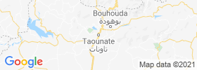 Taounate map