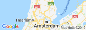Zaandam map