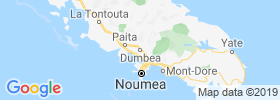 Dumbea map