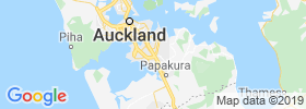 Manukau City map