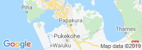 Papakura map