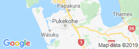 Pukekohe East map