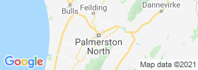Palmerston North map