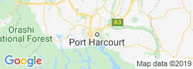 Port Harcourt map