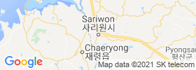 Sariwon map
