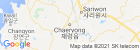 Chaeryong Up map