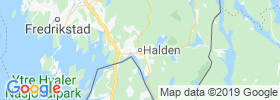 Halden map