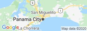San Miguelito map