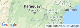 Caaguazú map