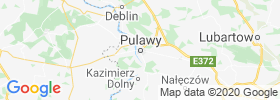 Pulawy map