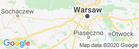 Pruszkow map