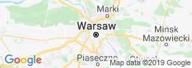 Warsaw map