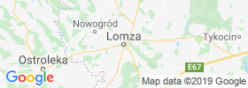 Lomza map
