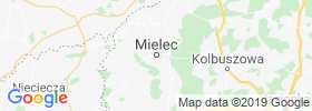 Mielec map