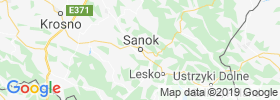 Sanok map