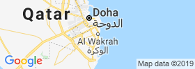 Al Wakrah map