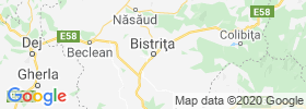 Bistrita map