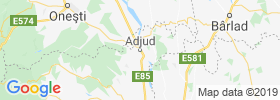 Adjud map