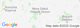 Novyy Oskol map