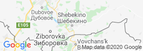 Shebekino map