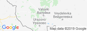 Valuyki map