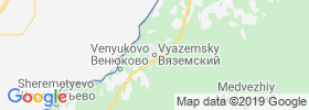 Vyazemskiy map