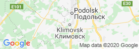 Klimovsk map