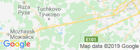 Kubinka map