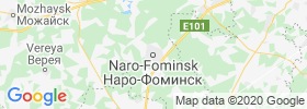 Naro Fominsk map