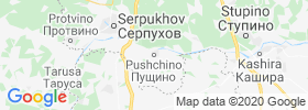 Pushchino map